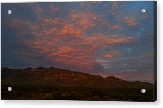 First Light Over Texas 3 Acrylic Print