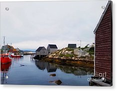 Fish Shacks  Acrylic Print