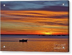 Fisherman's Return Acrylic Print