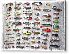 Fishing Lures - Dwp2669219 Acrylic Print