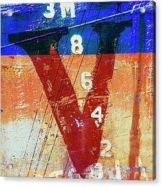 Fishing Vessel Vivian Astoria Oregon Acrylic Print