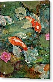 Fishy Tales Acrylic Print