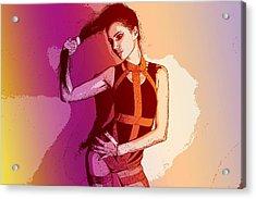 Fitness Acrylic Print