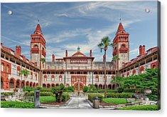 Flagler College - Saint Augustine - 1888flaglercollegestagustine091612 Acrylic Print