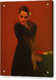 Flamenco Series 2 Acrylic Print