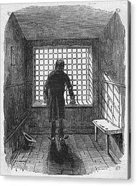 Fleet Prison Acrylic Print by Hulton Archive