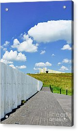 Flight 93 Memorial - Wall Of Names Acrylic Print