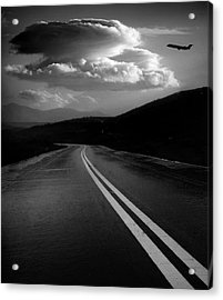 Acrylic Print featuring the photograph Flight Path by John Rodrigues