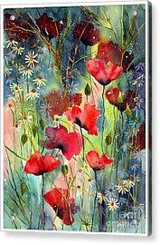 Floral Abracadabra Acrylic Print