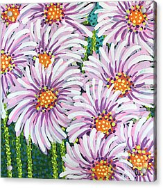 Floral Whimsy 1 Acrylic Print