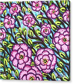 Floral Whimsy 3 Acrylic Print