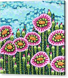 Floral Whimsy 8 Acrylic Print