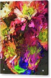 Flower Colour Love 1 Acrylic Print