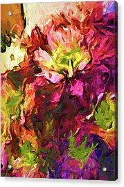 Flower Colour Love 2 Acrylic Print