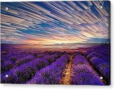 Flower Landscape Acrylic Print