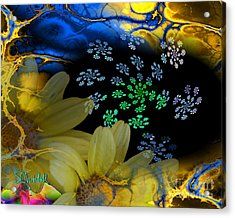 Flower Power In The Modern Age Acrylic Print