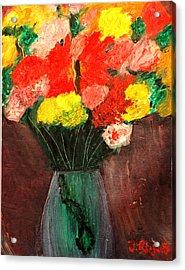 Flowers Still Life Acrylic Print