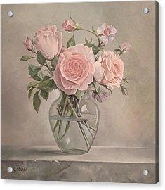 Flowers Vase Acrylic Print