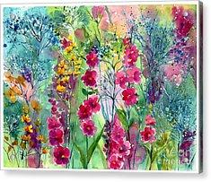 Flowery Fairy Tales Acrylic Print