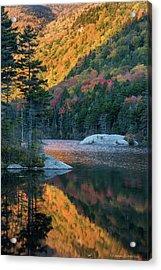Foliage Burst At Kinsman Notch Acrylic Print