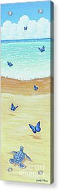 Follow The Butterflies Acrylic Print