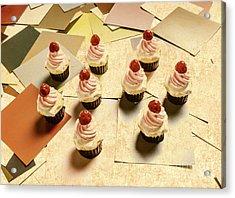 Foodie Nostalgia Acrylic Print