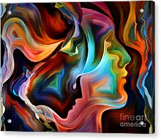 Forces Of Nature Series. Arrangement Of Acrylic Print