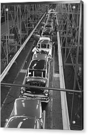Ford Factory Acrylic Print