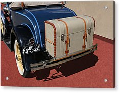 Acrylic Print featuring the photograph 1931 Ford Model A Roadster by Debi Dalio