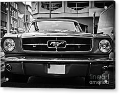 Ford Mustang Vintage 1 Acrylic Print