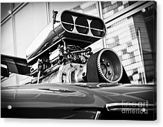 Ford Mustang Vintage Motor Engine Acrylic Print