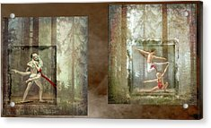 Forest Dancers Acrylic Print