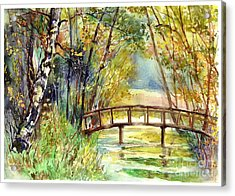Forgotten Bridge Acrylic Print