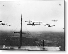 Formation Flying Acrylic Print by Hulton Archive