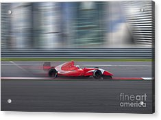Formula 2.0 Race Car Racing At High Acrylic Print