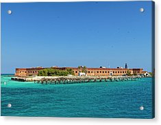 Fort Jefferson, Dry Tortugas National Park Acrylic Print