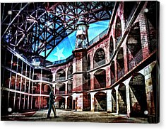 Fort Point Acrylic Print