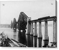 Forth Railway Bridge Acrylic Print by Hulton Archive