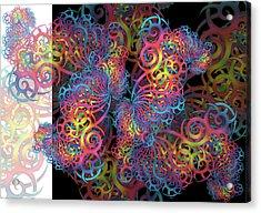Fractal Illusion Acrylic Print
