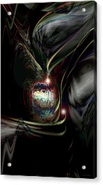 Fragments Of Time Acrylic Print