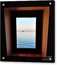 Framing The Frame Acrylic Print