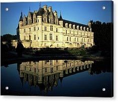 France, Loire, Chateau De Chenonceau Acrylic Print