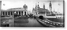 Franco-british Fair Acrylic Print by London Stereoscopic Company