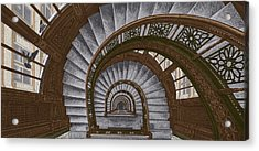 Frank Lloyd Wright - The Rookery Acrylic Print