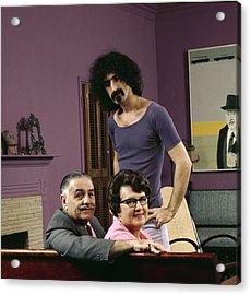 Frank Zappa & His Parents Acrylic Print by John Olson