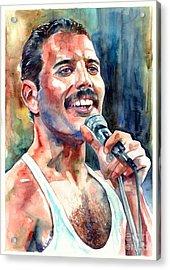 Freddie Mercury Live Aid Acrylic Print