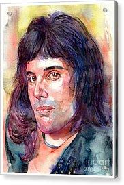 Freddie Mercury Young Acrylic Print