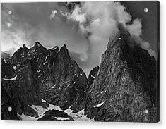 French Alps Spires Acrylic Print