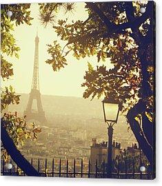 French Romance Acrylic Print