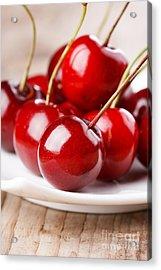 Fresh Cherries Acrylic Print
